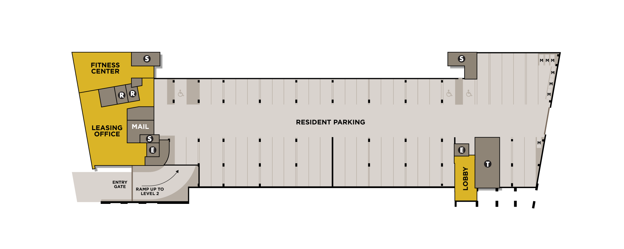 Site plan Level 1