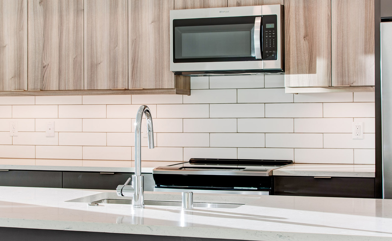 Kitchen Sink & Appliances